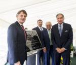 Automotive Innovation Centre: Ratan Tata, Cyrus Mistry unveil foundation stone of innovation centre innovators Government and Innovators: Two Hands Together tata jlr unveils innovation centre 150x128