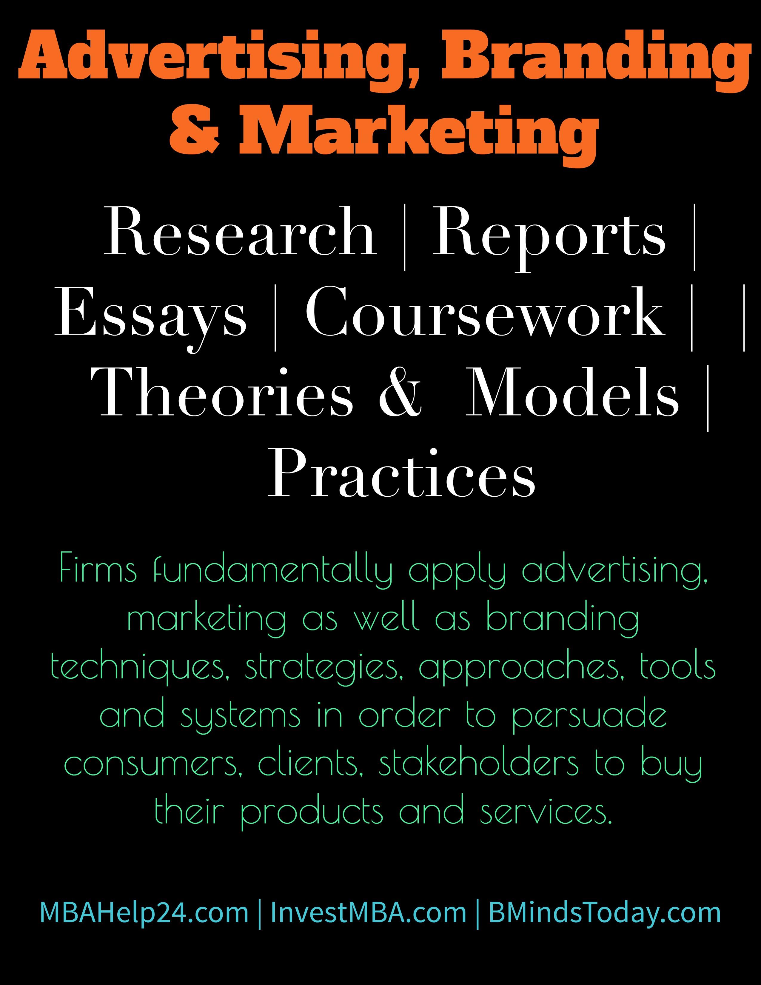 Branding-advertising and Marketing