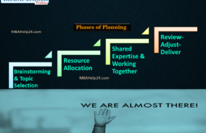 phases of planning mba dissertation