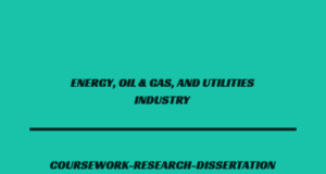 ENERGY, OIL & GAS, AND UTILITIES