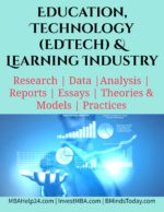 Education, Technology (EdTech) & Learning Industry.. apparel Apparel, Textiles, Clothing & Fashions Industry.. Education Technology EdTech and Learning Industry