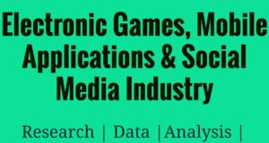 Electronic Games, Mobile Applications and Social Media Industry- MBA Social Media Management industry Industry – Sector Electronic Games Mobile Applications and Social Media Industry 300x160