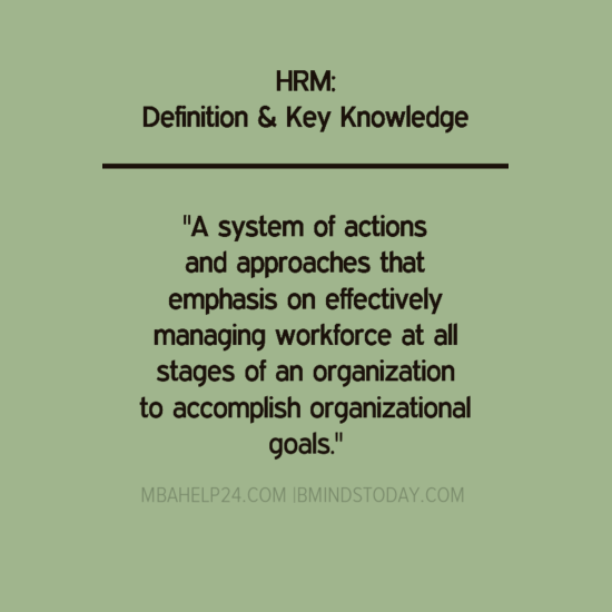 hrm-definition