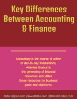 Key Differences Between Accounting and Finance accounting Traits of Accounting Key Differences Between Accounting and Finance 150x194