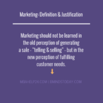 Marketing: Definition & Justification marketing Marketing MARKETING DEFINITION AND JUSTIFICATION 150x150