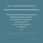 Key Concepts In Operations Management operations Operations OPERATIONS MGMT 150x150