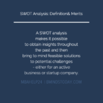 SWOT Analysis: Definition & Primary Advantages