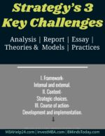 Strategy's Three Key Challenges swot SWOT Analysis: Definition & Primary Advantages Strategy   s Three Key Challenges 150x194