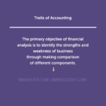 Traits of Accounting