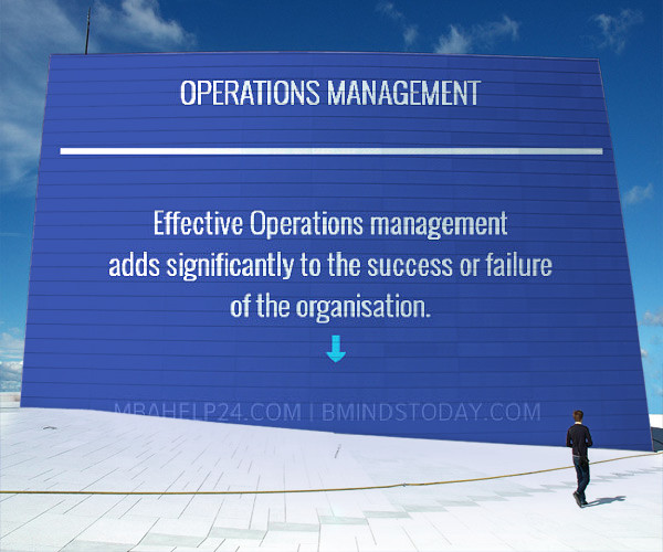 Operations management - theories - models -systems  operations Operations om