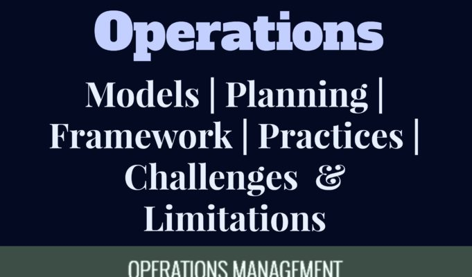 operations management models, approaches, framework, processes, benefits and limitations mba MBA Knowledge With Free Resources and Tools operations