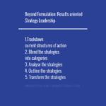 Beyond Formulation: Results-oriented Strategy Leadership generic strategies Generic Strategies: Concept, Framework, Performance & Risk strategy leadership 150x150
