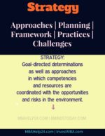 Strategy strategic planning The Strategic Planning Process: A Fundamental View strategy