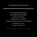 Product Life Cycle Extension Strategies marketing Marketing EXTENDING THE PRODUCT LIFE CYCLE 150x150