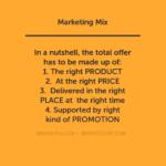 Marketing Mix: Background, Definition & Objectives of 4 P's marketing mix The Marketing Mix: 4 P's Policy MARKETIGN MIX 150x150