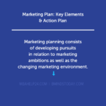 Marketing Plan: Key Elements & Action Plan