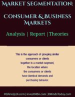 Market Segmentation: Consumer & Business Markets marketing Marketing: Definition & Justification Market Segmentation Consumer Business Markets 150x194