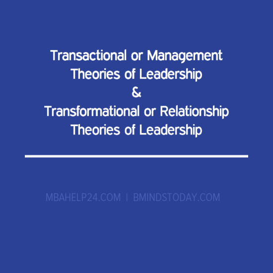 Transformational Leadership Essays (Examples)