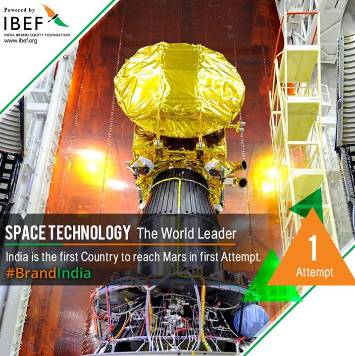 india became the first country to reach mars in first