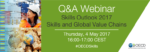 Interested in learning about skills and global value chains? Register for Q&A we…