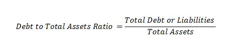 Debt to total assets ratio Debt Financial Leverage Ratios | Debt | Total Assets | Equity | Times Interest Earned Debt to total assets ratio