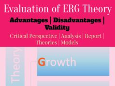ERG-Needs-Theory- advatages and disadvatages- limitations