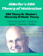 "ERG Theory of Motivation | ERG Model Vs "" Hierarchy of Needs "" Theory hierarchy of needs Hierarchy Of Needs Theory 