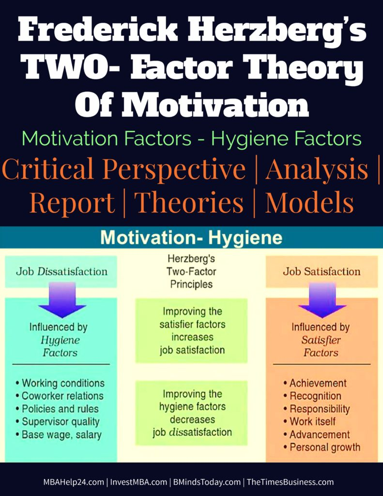 herzbergs motivation hygiene theory and job satisfaction in the malaysian retail sector The motivation to work herzberg 1959 pdf herzberg two factor theory 1959 pdf herzberg theory of motivation in the workplace pdf herzberg 30 dec 2015 tan, teck hong and waheed, amna (2011): herzberg's motivation-hygiene theory and job satisfaction in the malaysian retail sector: the.