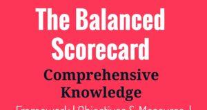 The balanced scorecard analysis and framework