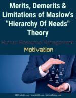 Limitations Of Maslow's 'Hierarchy of Needs' Theory | Merits | Demerits hierarchy of needs Hierarchy Of Needs Theory | Maslow's FIVE Needs Systems | Motivation advantages disadvatages and limitations of maslow hierarchy of needs theory 150x194