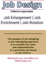 Collective Approaches to Job Design | Job Enrichment | Job Rotation