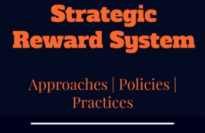 strategic reward system approaches, policies, aims and practices