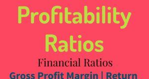 Profitability Ratios- Gross Profit Margin- Return On Assets- Return On Equity