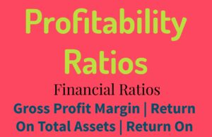 Profitability Ratios- Gross Profit Margin- Return On Assets- Return On Equity