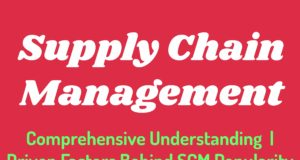 Supply chain managemen- comprehensive understanding, definition, overview, key forces, driven factors behind SCM