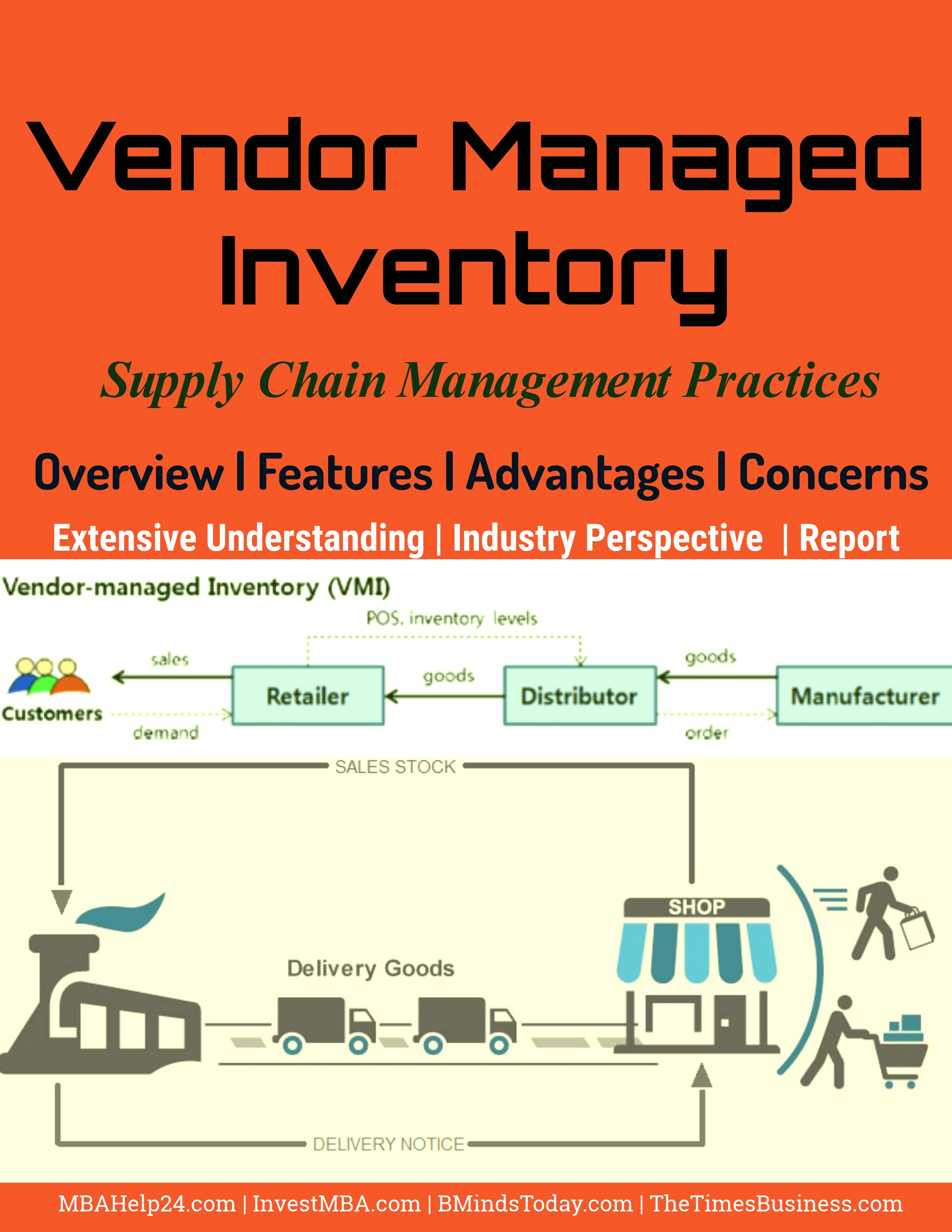 Vendor Managed Inventory- Overview, Features, Advantages and Concerns Vendor Managed Inventory Vendor Managed Inventory | Overview | Features | Advantages | Concerns Vendor Managed Inventory Overview Features Advantages and Concerns