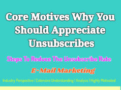 Core Motives Why You Should Appreciate Unsubscribes | Steps To Reduce The Unsubscribe Rate