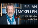Sir Ian McKellen | Full Address and Q&A | Oxford Union