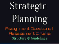 Strategic Planning | Assignment Questions | Assessment Criteria | Structure & Guidelines